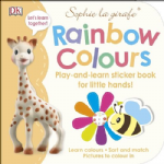 Sophie la girafe® Rainbow Colours sticker book